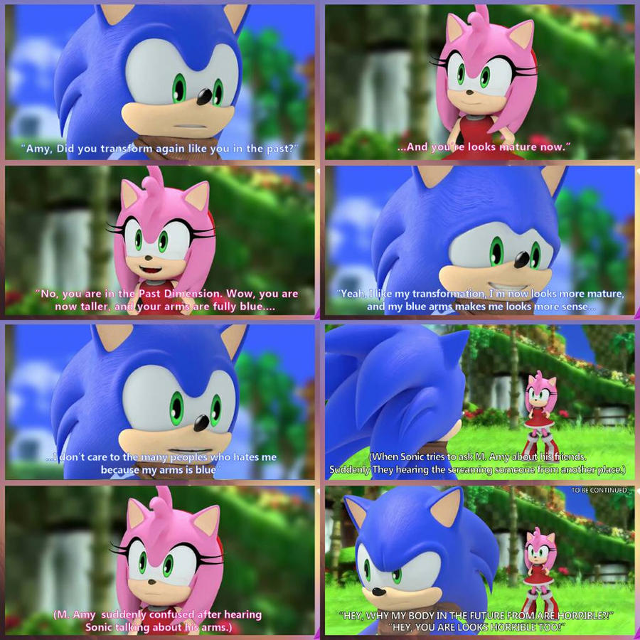 Sonic Boom Edit The Reunion Of Generations 4 By Ajaysr On Deviantart