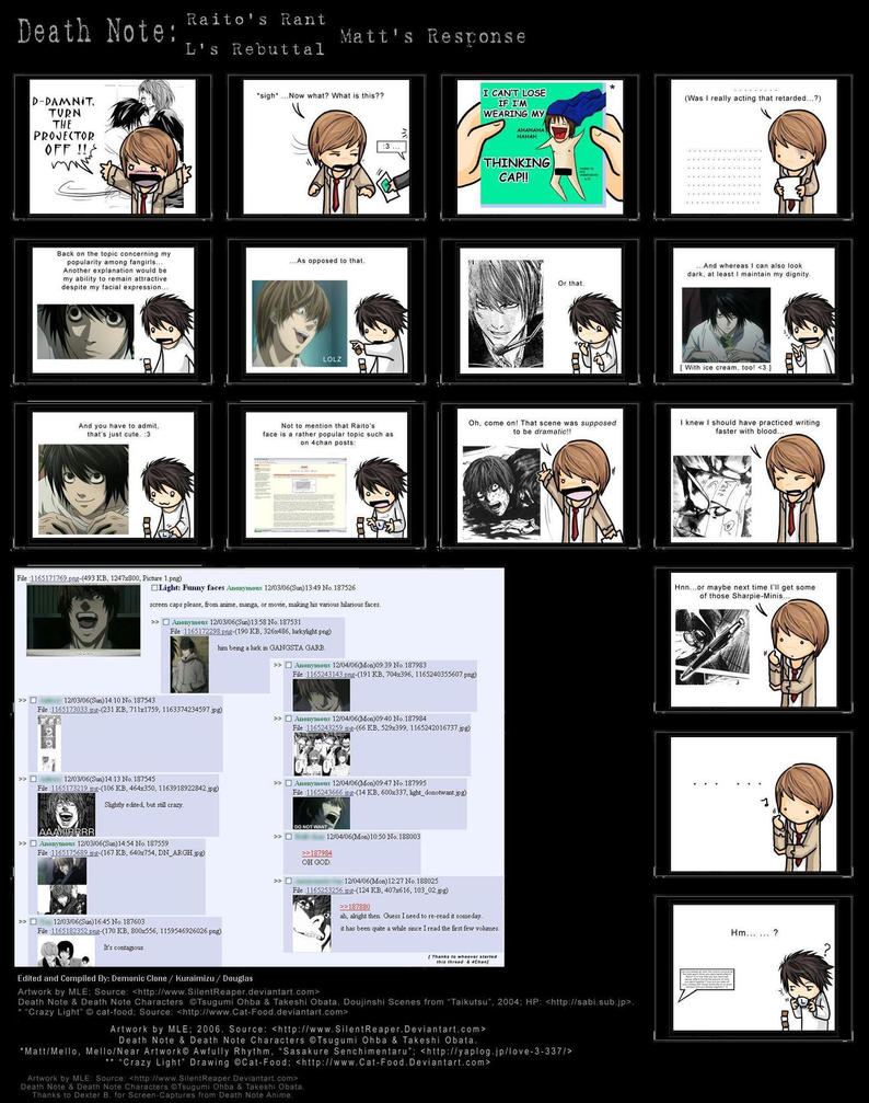 Deathnote Skit Comic part 3 by