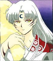 Sesshomaru for Tanya by kikoro