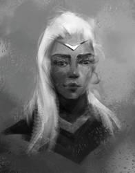 portrets girl 2 byViktoriiaVovchuk by VikiGrafika