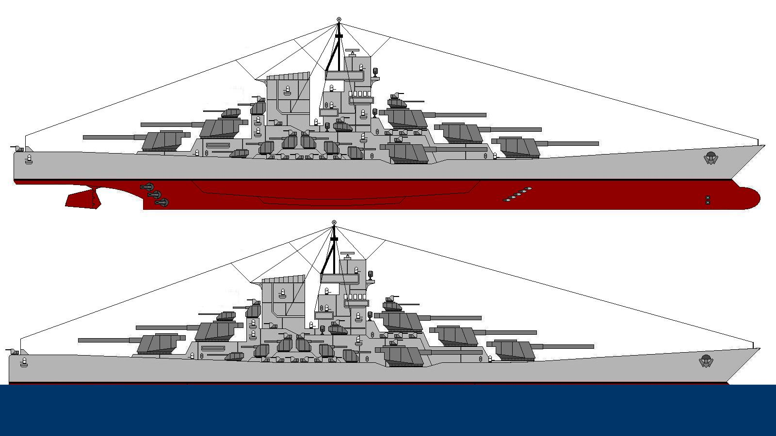 Battleship U S S Patton by