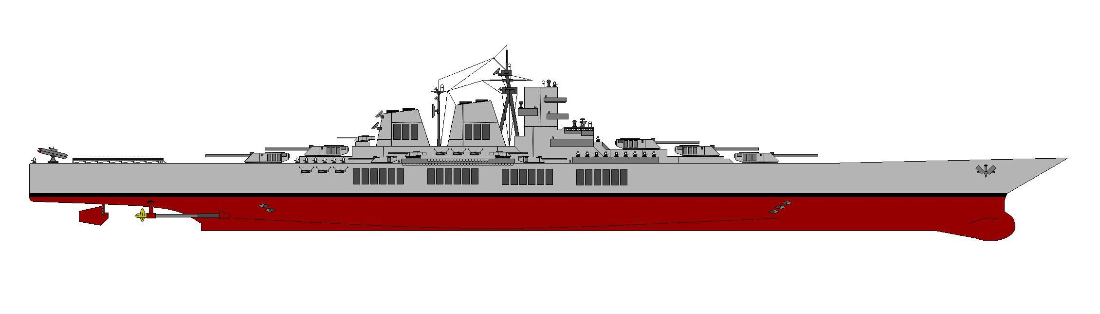 Battleship U.S.S. Mastershay by BeBop953 on DeviantArt Modern Us Battleship Design