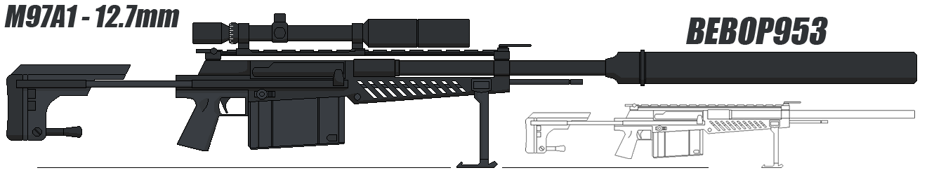Heavy Sniper M97A1 by BeBop953