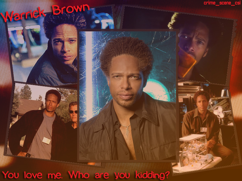 Warrick Brown Csi. Warrick Brown by ~Machii-csi on deviantART