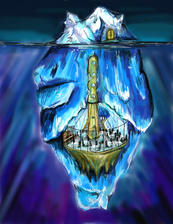 >L'Ascenseur< Iceburg_Restaurant_by_lordvoldy