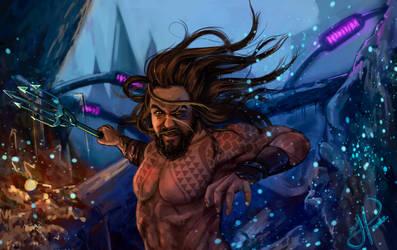 Aquaman! by Heorukz