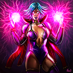 Sorceress by GerardGC