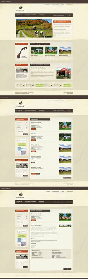Farm advertising site