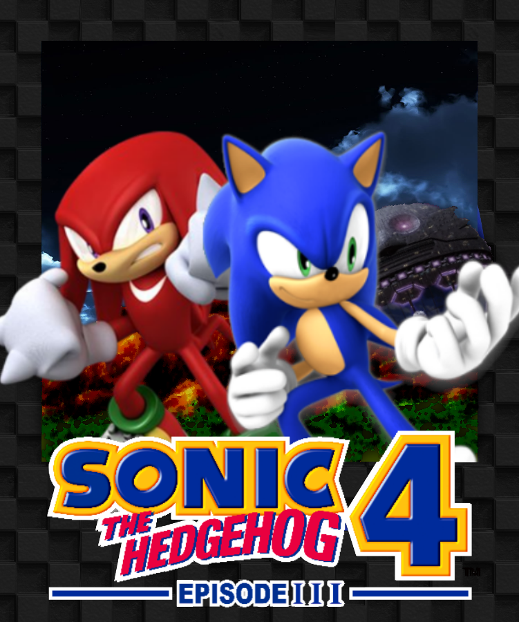 sonic the hedgehog 4 episode 3 box art by hellofahedgehog on deviantart. Black Bedroom Furniture Sets. Home Design Ideas