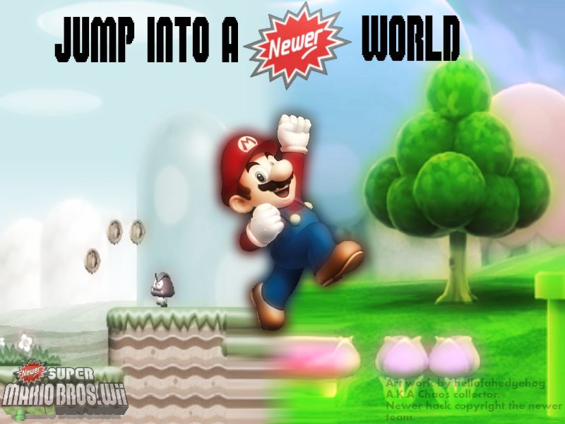 how to download newer super mario bros