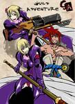 Guild Adventure Illustration