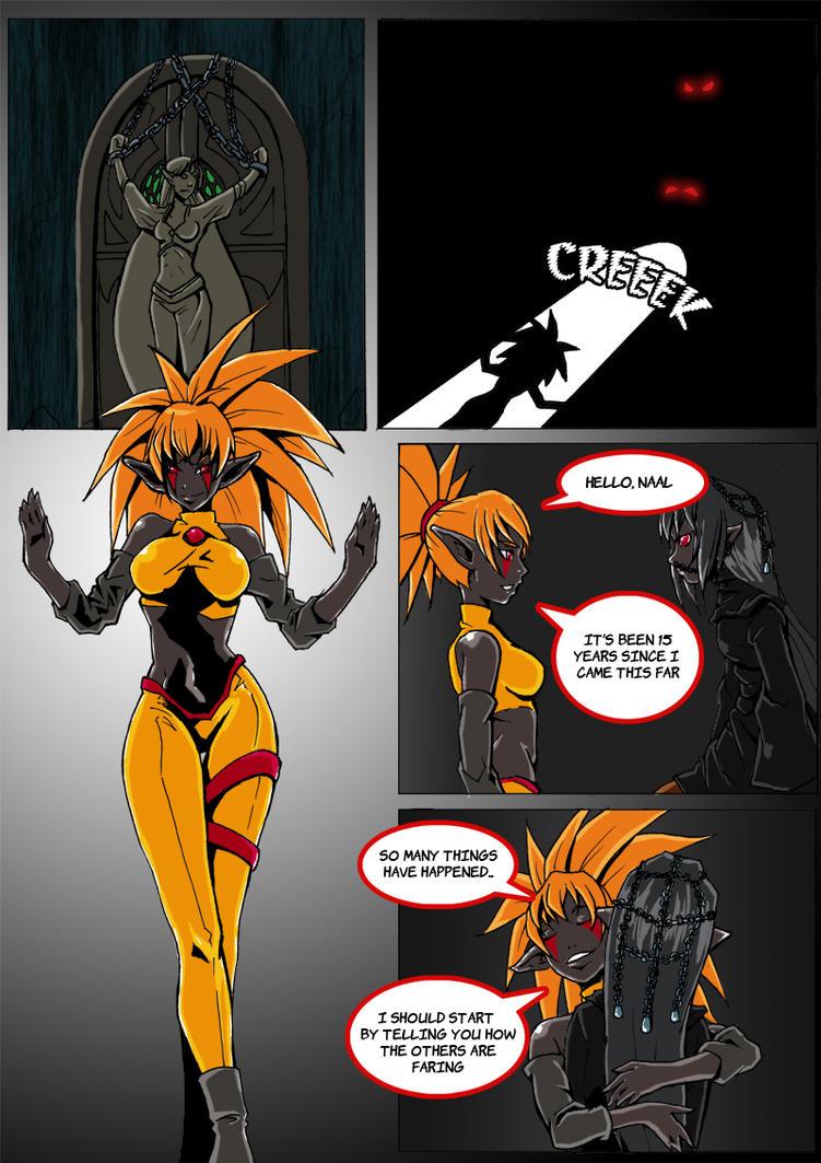 Drow up page 1 by KukuruyoArt