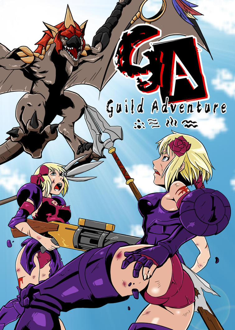Comic Monster Hunter: Monster girls on tour Guild_adventure_cover_7_by_kukuruyosechs-d5nw66s
