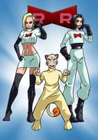 Dragon ball Team Rocket by KukuruyoArt