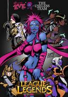 My little Eve: The Useless team by KukuruyoArt