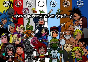 Guild adventure 2nd anniversary + contest by KukuruyoArt