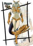 Female version: Zinogre