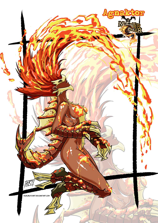 Versiones femeninas de Monstruos - Página 2 Female_version__agnaktor_by_kukuruyoart-d7jawl1