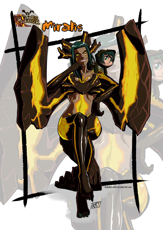Versiones femeninas de Monstruos - Página 2 Female_version__miralis_by_kukuruyoart-d7k9mv8