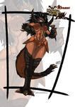 Akantor Monster girl