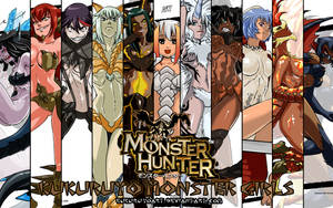 Monster hunter Monster girls Wallpaper