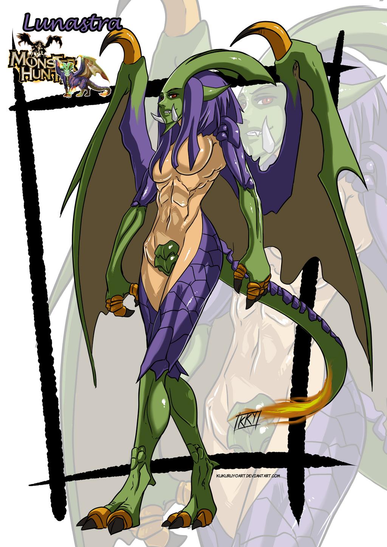 Versiones femeninas de Monstruos - Página 4 Lunastra_monster_girl_by_kukuruyoart-d7z9faz