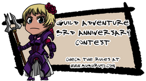Guild adventure 3rd anniversary