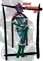 Christmas Eve, Literally by KukuruyoArt