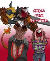 Wear the badger by KukuruyoArt