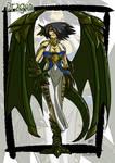 Dragon monster girl