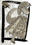 Commission: Ukanlos monster girl