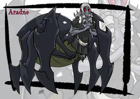 Arachne monster girl by KukuruyoArt