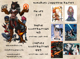 Commission rates small by KukuruyoArt