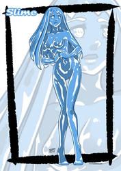 Monster girl: Slime by KukuruyoArt