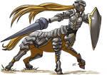 Centaur Armored by KukuruyoArt
