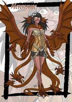 Herensuge monster girl by KukuruyoArt