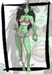 Commission: Ogre monster girl