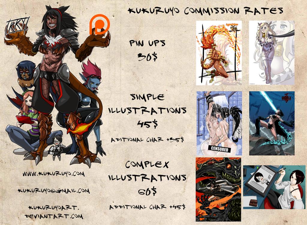 Commissions open by KukuruyoArt
