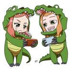 Vivian and Kaya fanart