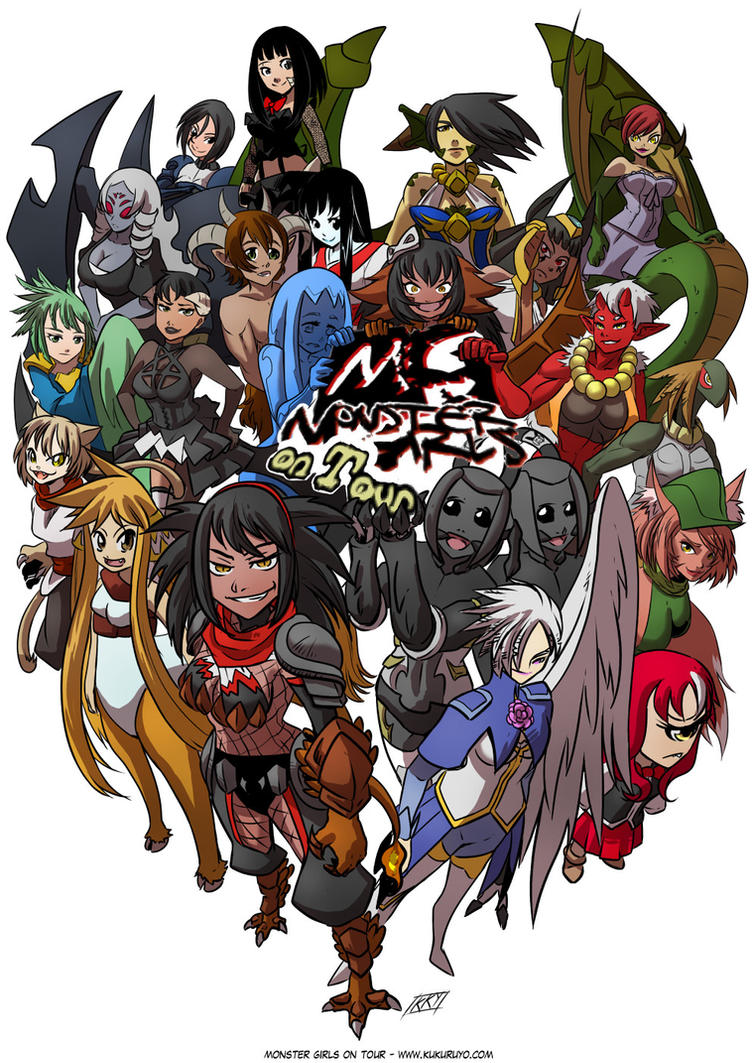 Monster girls on tour new cover by KukuruyoArt