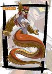 Basilik monster girl