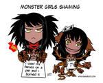 Monster girls shaming