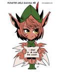 Monster girls shaming 3 by KukuruyoArt