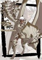 Gravios monster girl by KukuruyoArt