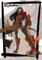Djahira matriarch of the salamander by KukuruyoArt