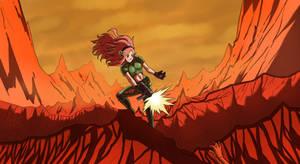 Commission: Doom Vivian by KukuruyoArt