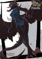 Fatalis monster girl by KukuruyoArt