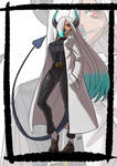 Commission: Asuka monster girl