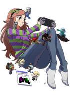 Gamergate second anniversary by KukuruyoArt