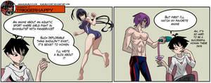 Gamergate Triggerhappy - Anime double standard